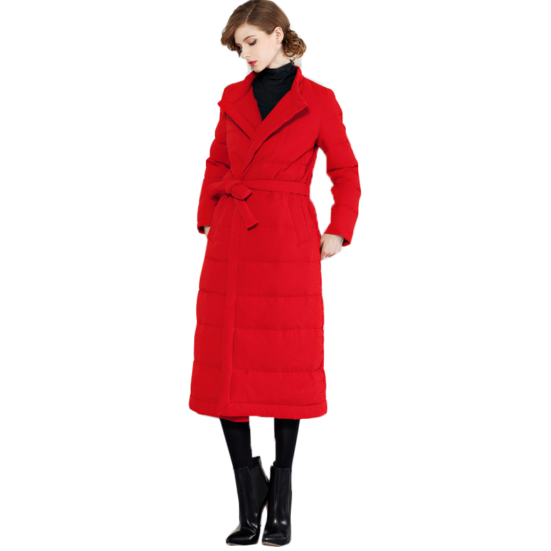 black De D'hiver Haut Down Épaississement Gamme 2018 Vestes Femmes Long Canard Nouvelle Red Veste Lâche Mode Blanc Manteau Big Down100 pink Duvet Enfq8YwR