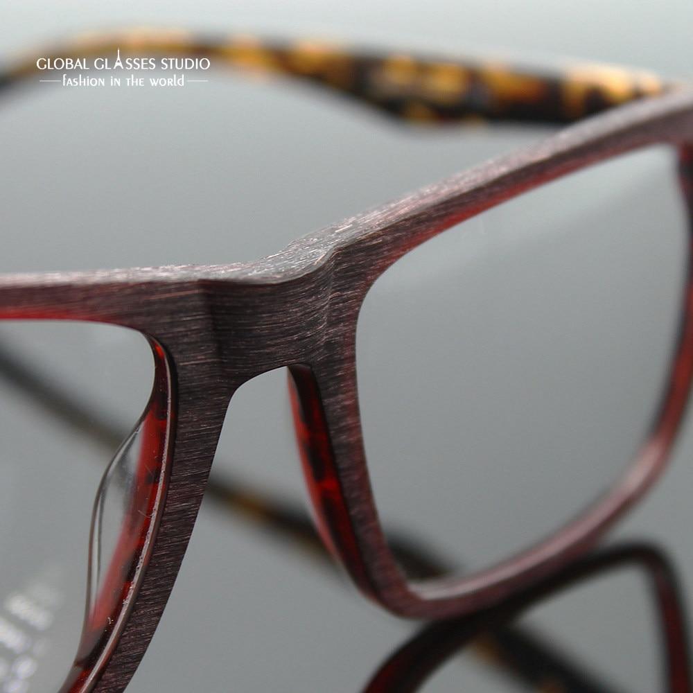 3c76ab19357 Free Shipping Eyeglass Frames Vintage Men Designer Eyewear Frame Optical  Eye Glasses Frame can match phototropic lenses 98168-in Eyewear Frames from  Apparel ...