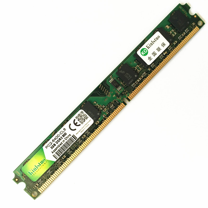 Newest DDR2 2GB 800MHz RAM PC 6400 DIMM 240PIN desktop memory