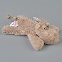 5 Pcs Grey Color Hippo Stuffed Plush Fridge Magnet Kids Learning Home Decoration Gift Free Shipping