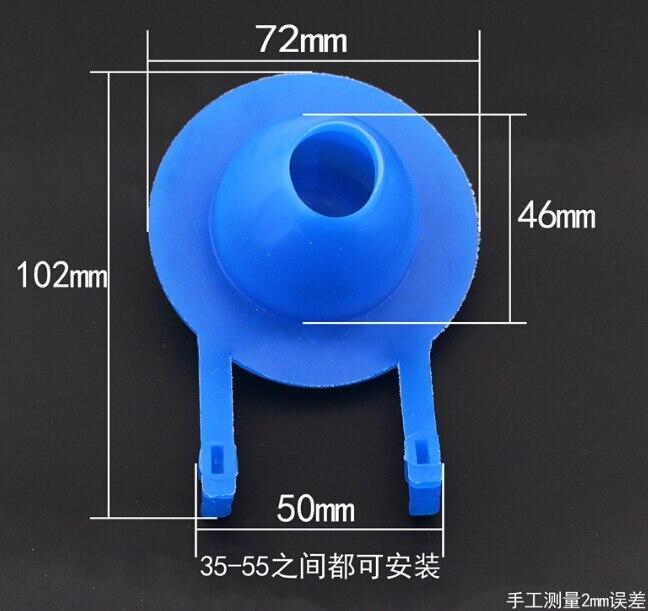7.2 cm vanne de vidange toilettes raccords du réservoir de toilette toilettes joint Pusey vanne d'arrêt d'eau couvercle tournage