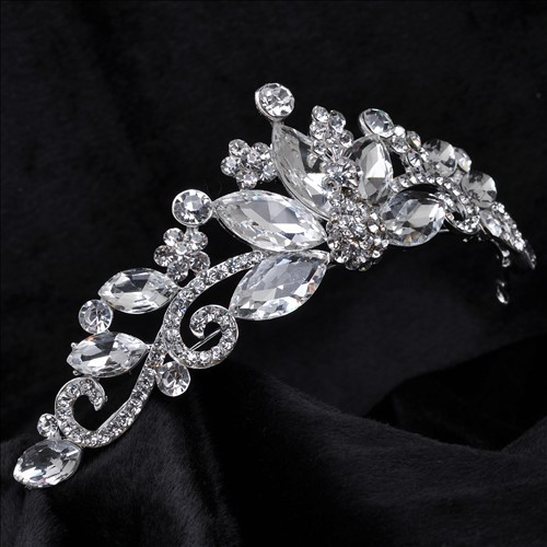 crystal tiara crown hair jewelry bridal wedding hair accessories jewelry for hair tiaras and crowns noiva hair ornaments 1045