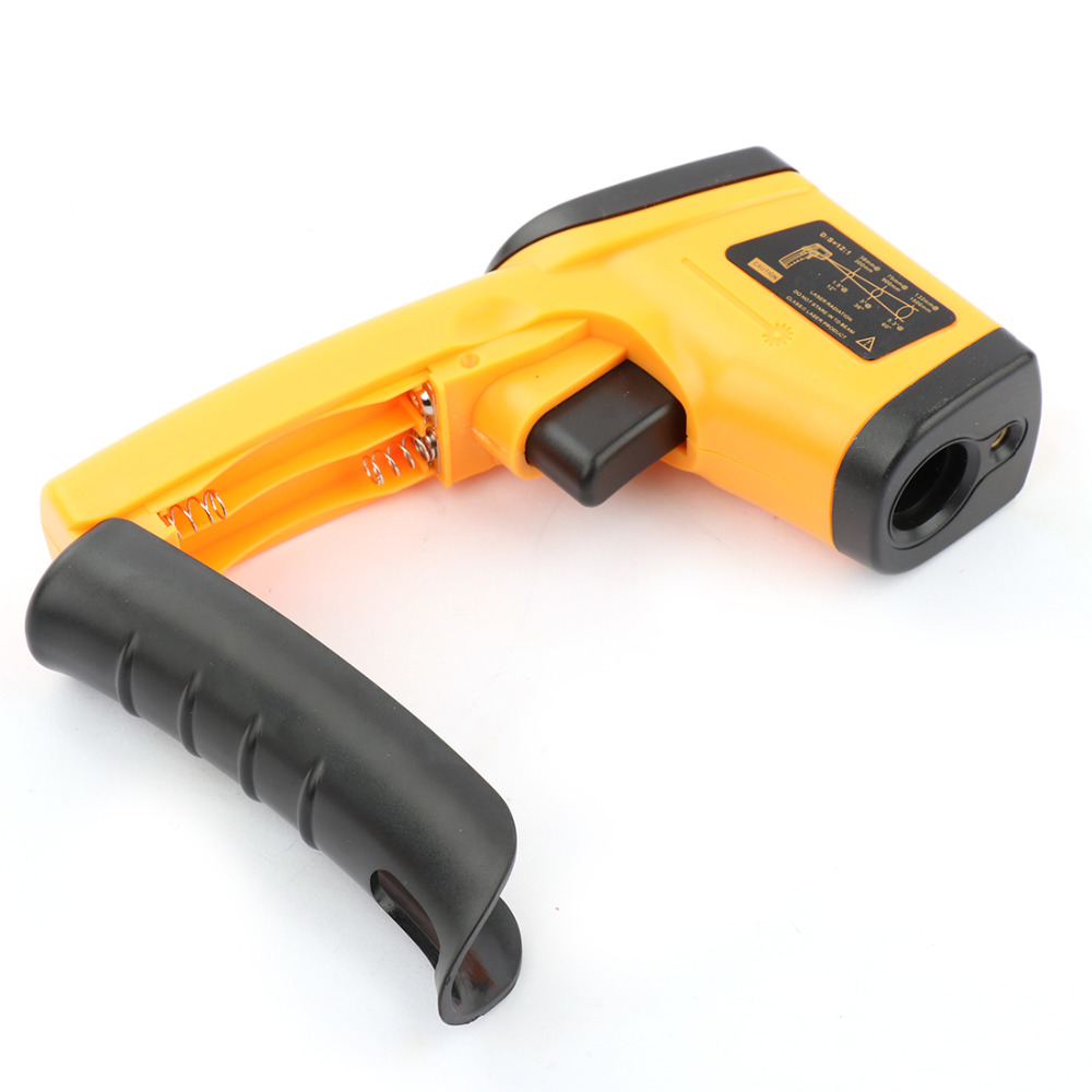 New Laser LCD Digital IR Infrared Thermometer GM320 Temperature Meter Gun Point -50~380 Degree Non-Contact Thermometer an550 laser lcd digital ir infrared thermometer temperature meter gun 50 500c 58 1022f non contact temperature meter gun