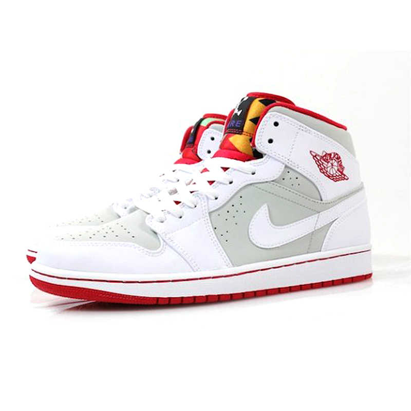 info for 3d754 f5b19 ... Original Nike Air Jordan 1 Mid Hare AJ1 Bugs Bunny Women s Basketball  Shoes Sneakers,Outdoor ...
