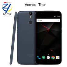 Vernee Thor Smartphone 4G Android 6.0 Mobile Phone Octa Core MTK6753 3GB+16GB 13MP Fingerprint ID 5.0HD 2800mAh Cell phone