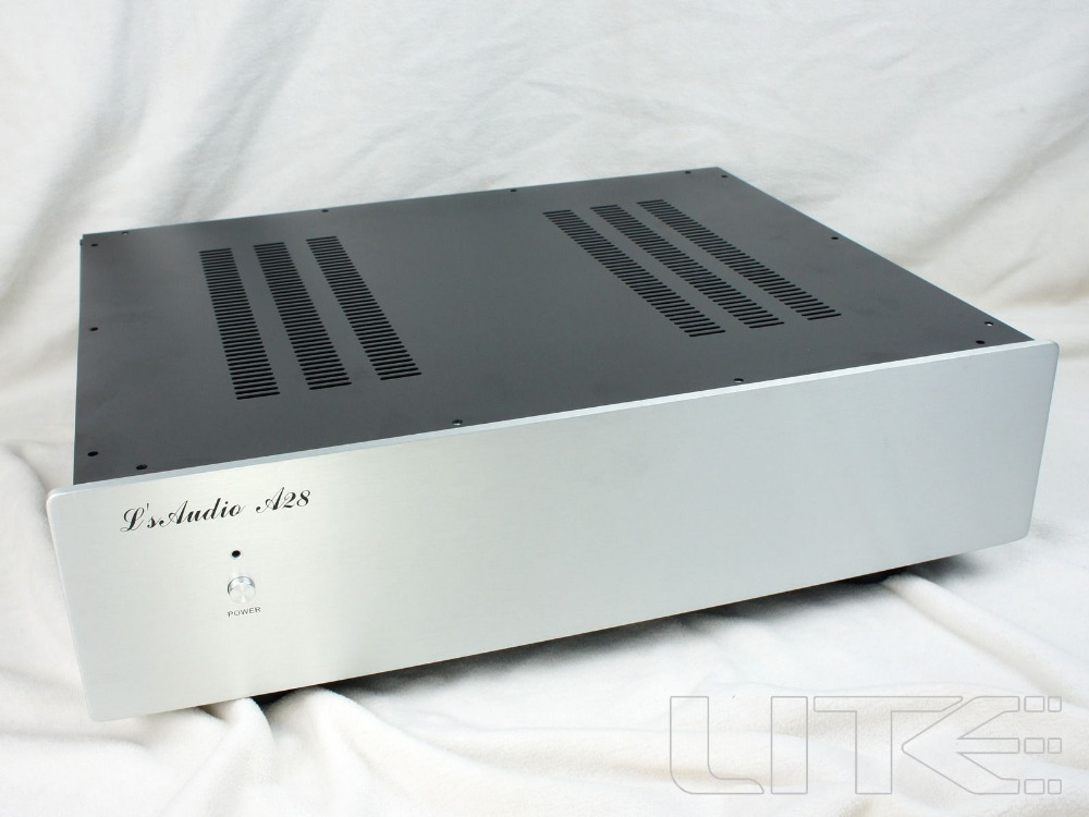 ФОТО NEW Lite A28 -D series general preamp chassis /AMP Box DAC enclosure