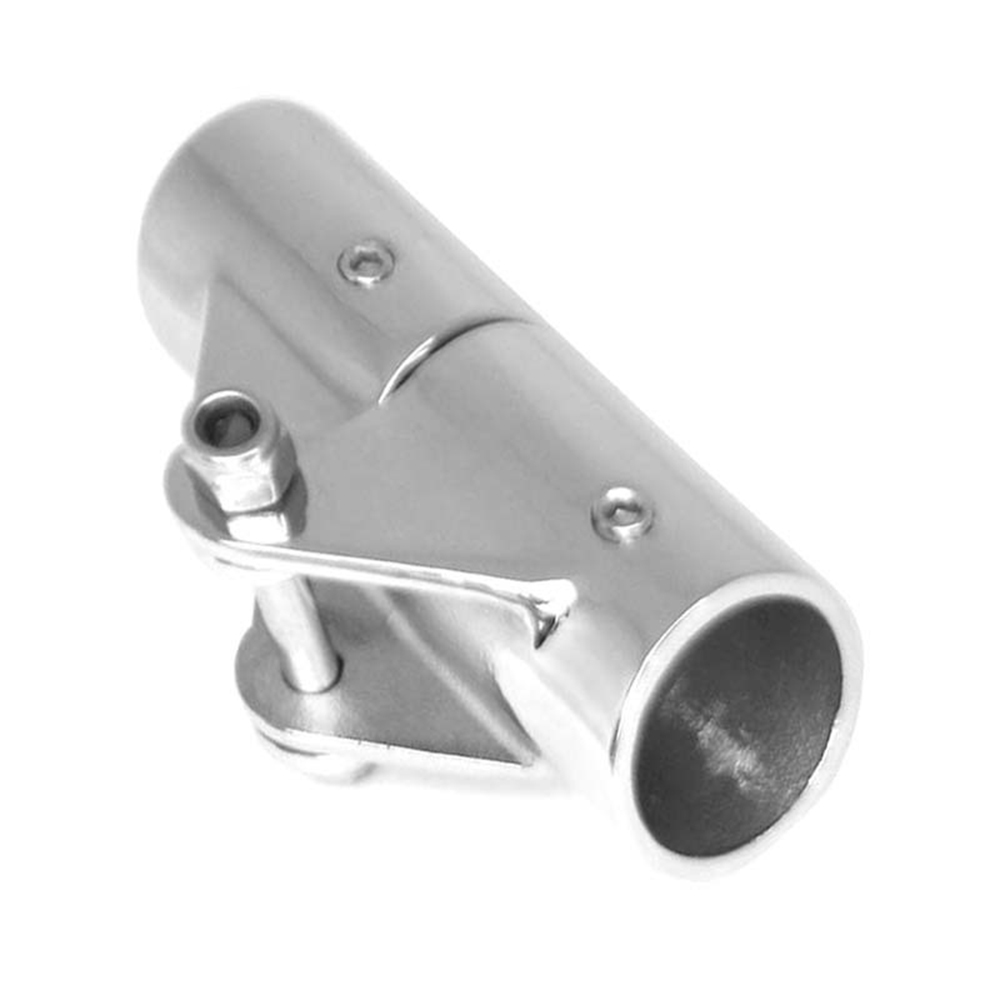 22/25mm Marine Stainless Steel Folding Swivel Coupling Pipe Connector <font><b>Boat</b></font> Fitting Connector Yacht Accessories <font><b>Latch</b></font> image