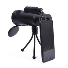 New 40X60 BAK4 Monocular Telescope HD Mini Monocular Powerful Night Vision High Quality Zoom Great Handheld Telescope Hunting