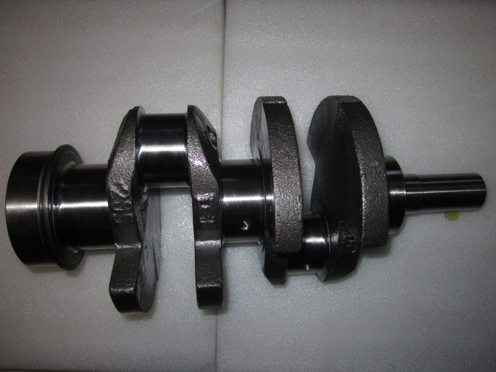 JIANGDONG engine parts, the crankshaft for TY295IT engine for tractor like TY184 JM204 jiangdong ty395e jd495 engine for tractor like jinma the water pump two inlet pipes