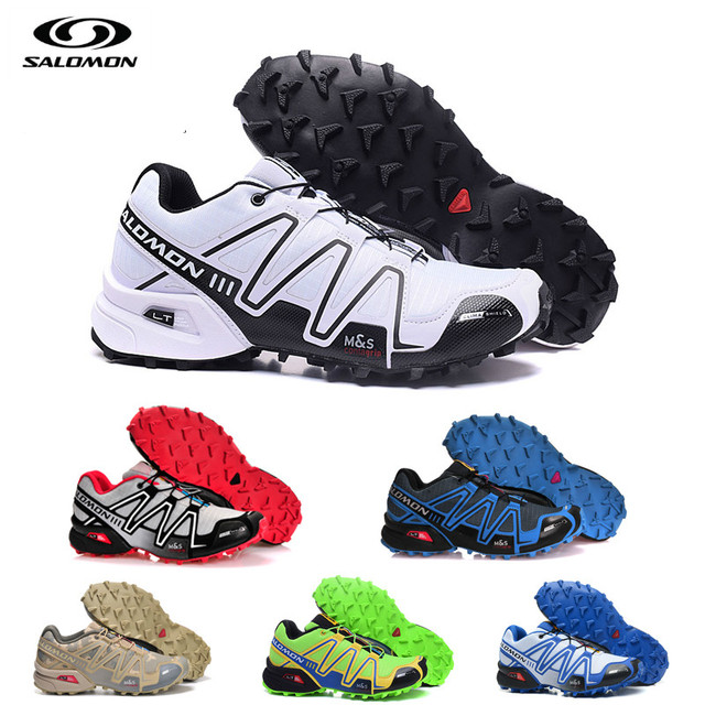 Новая Спортивная Мужская shoes Salomon speed Cross 3 Zapatillas speed cross CS мужской Hombre Solomon Fencing Мужская shoes для бега