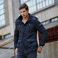 Men's Jacket 2016 Men's autumn winter plus velvet warm coat New Arrival Casual Fashion Coat M-5XL Big Size