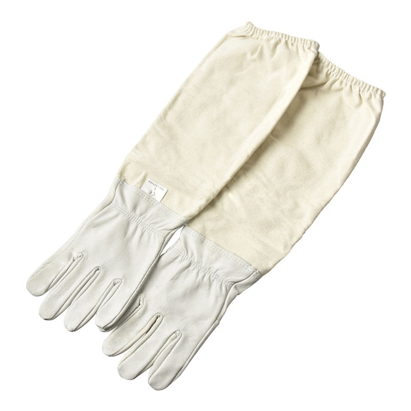 DLKKLB 1 Pair Beekeeping Gloves Sheepskin Breathable Material Bee Tools Universal Model Canvas Gloves We Sell Cut Honey Knife