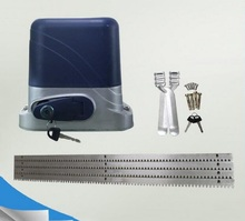 automatic electric sliding gate opener for 800kgs door weight compatible with gear racks