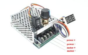 Image 3 - Digital Display 0~100% adjustable DC 10 50V 40A DC Motor Speed Controller PWM 12V 24V 48V 2000W MAX 60A Reversible