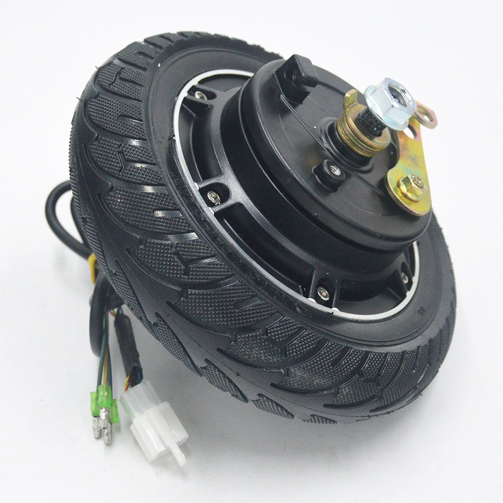 Electric Scooter Hub Wheel <font><b>Motor</b></font> 24V/36V/48V <font><b>350W</b></font> <font><b>DC</b></font> <font><b>Brushless</b></font> Toothless 8