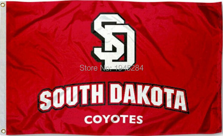 newest 81e3f e7af3 NCAA South Dakota Coyotes Wordmark Flag Banner New 3x5FT 90x150CM Polyester  8926, free shipping-in Flags, Banners & Accessories from Home & Garden on  ...