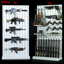 1/6 Scale 001+002 Modular Weapons Display Wall Gun Rack Assembled Stand(Weapons not include) Expansion 12 Inch Soldier Figure
