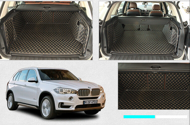 Custom Special Trunk Mats For BMW X3 E83 2010 2004 Waterproof Boot Carpets Cargo Liner 2008Free Shipping