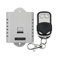 AC 85V-110V-220V wireless remote control switch with manual button  smart home Simple and practical 1 X receiver 1 X transmitter