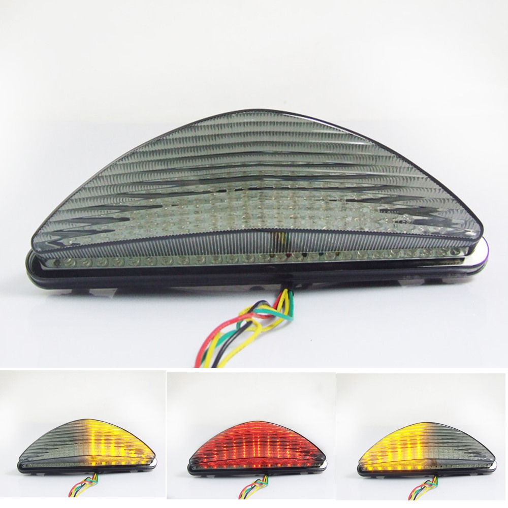 Motorcycle LED Turn Signal Tail Light Taillight For YAMAHA