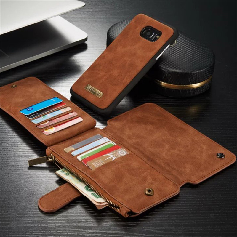 For Samsung Galaxy S7 edge Leather Cover font b Case b font for Samsung Galaxy S7
