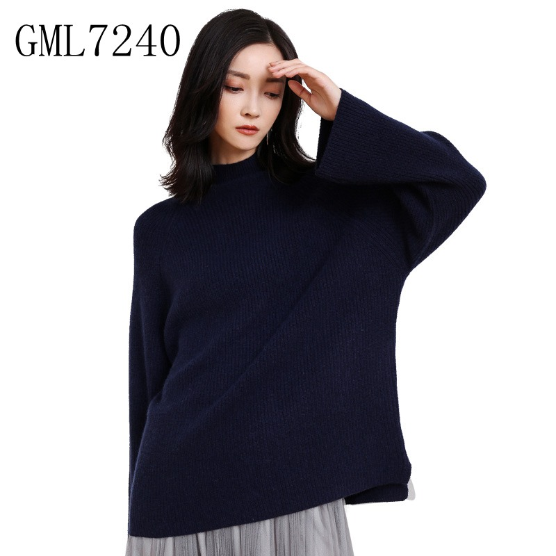 Здесь продается  winter chunky warm ladies plus size cashmere wool knitted sweater free shipping- GML7240  Одежда и аксессуары