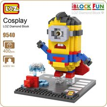 LOZ Diamond Blocks Action Figure Micro Figure Bricks Super Heroes Toys for Children Gift Birthday Mini