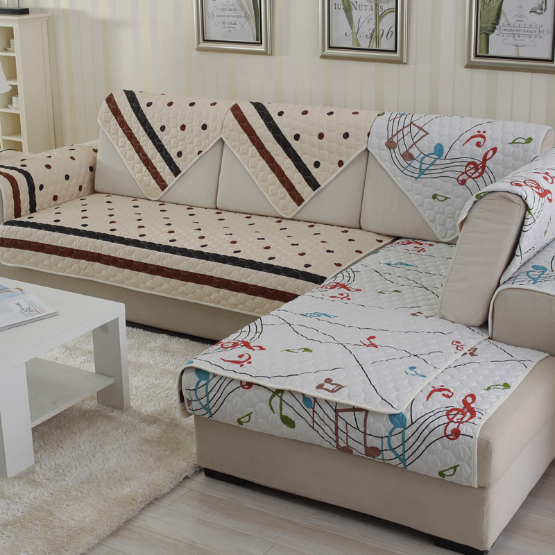 Europe Style Double Sides Pattern Sofa Cover Slipcovers Canape Quliting Slipcover Home Decor Free Shipping too-90