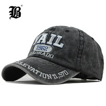 [FLB] New Washed Cotton Baseball Cap 2019 Snapback Hat For Men Women Dad Hat Embroidery Casual Cap Casquette Hip Hop Cap F311(China)