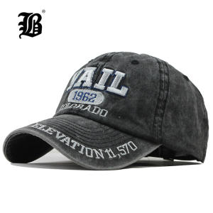 FLB Washed Cotton Baseball Cap 2019 Snapback Hip Hop