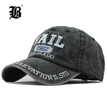 [FLB] New Washed Cotton Baseball Cap 2019 Snapback Hat For Men Women D