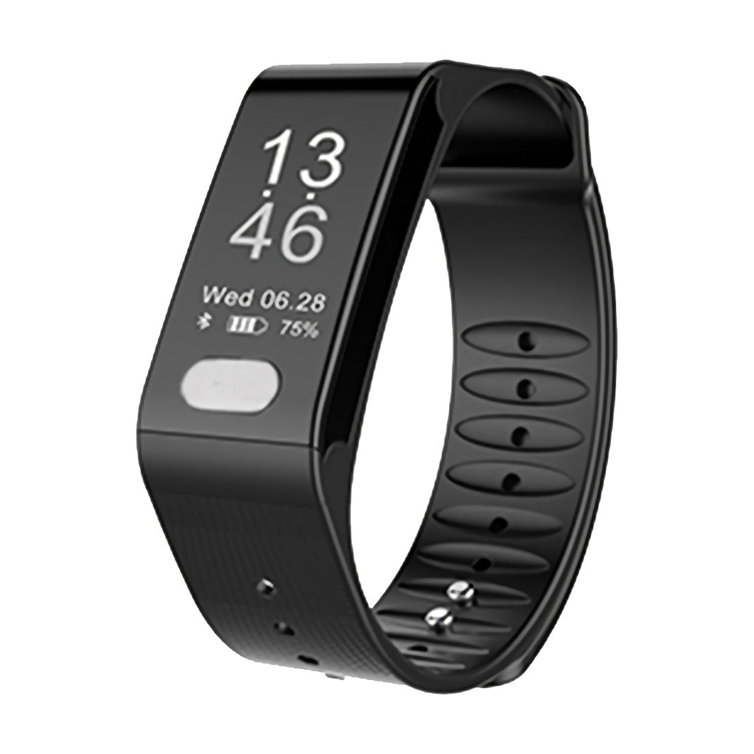 T6 Heart Rate Smart Band Watch ECG Puls Blood Pressure Monitor Fitness Bracelet Wristband home care laser light therapy instrument wrist watch type reduce high blood pressure