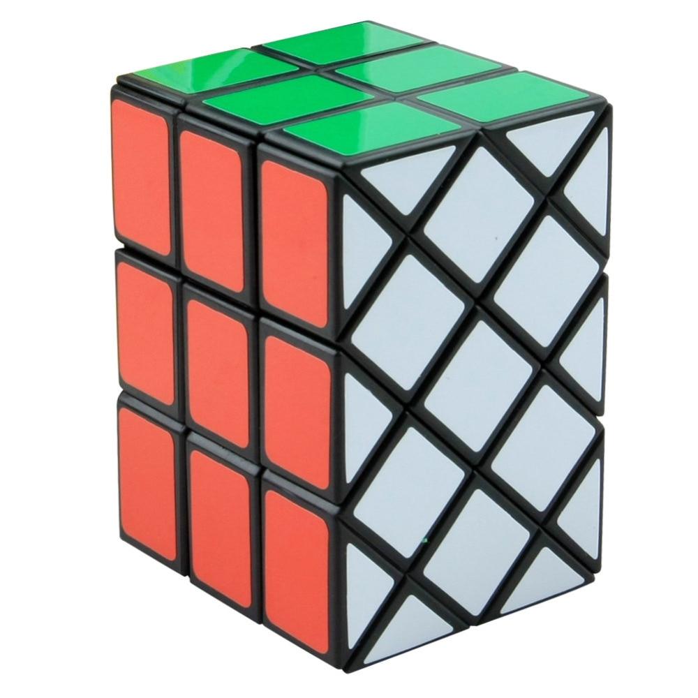 YKLWorld Newest 3x3 Double Fish Irregular Magic Cube Sticker Speed Puzzle Cubes Juguetes Educativo Magic Cube