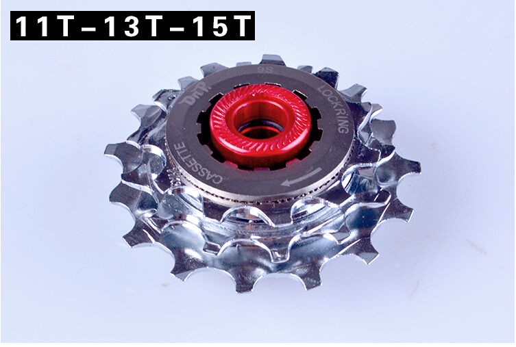 Vélo pliant externe 3 vitesses roue libre arrière dérailleur kit de levier de frein pour BYA412 refit BMX pièces - 2
