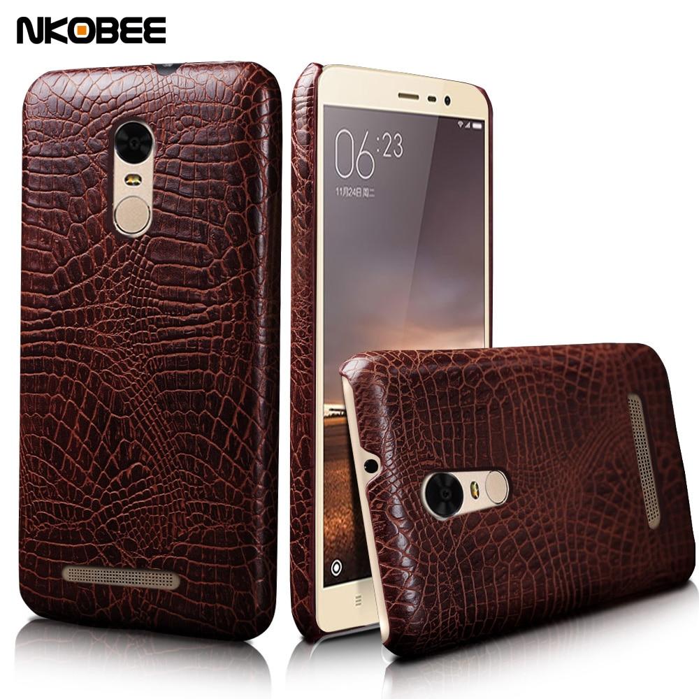 brand new e3868 7fb1d US $4.99 |NKOBEE Case For Xiaomi Redmi Note 3 Pro/Prime Mobile Phone Case  Leather Crocodile Original Hard Cover on Aliexpress.com | Alibaba Group