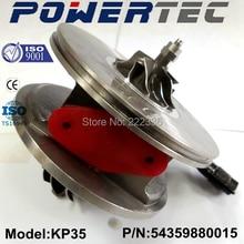 KKK turbocharger cartridge KP35 turbo core assy 54359880015 turbo chra for Opel Astra H 1.3 CDTi