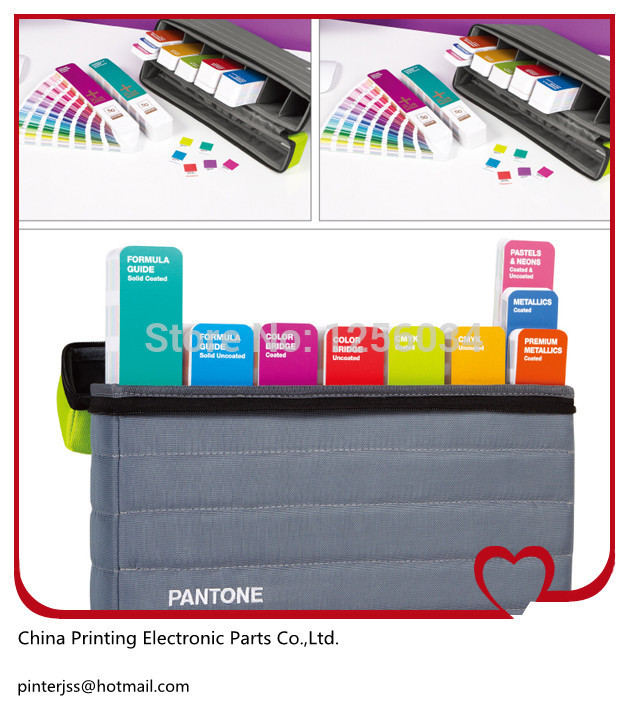 100% authentic, PANTONE Pantone color portable guide portable studio GPG104 Guide Set Color Card цветовые карты pantone 2015 cu gp1601