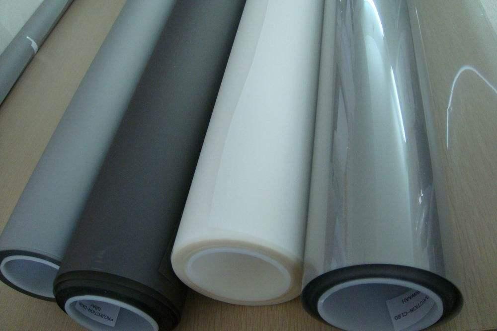 30 polegadas a 150 Polegadas de Projeção Traseira Holográfica Film (Transparente/Cinza Claro/Cinza Escuro/Preto) 4 cor Escolher
