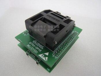 Original YAMAICHI IC Test Seat QFP64-DIP48 Burning Programmer ZY501Q Socket Adapter