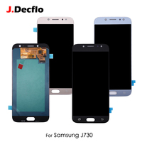 OLED AMOLED TFT LCD Display For Samsung Galaxy J7 2017 J730 J730F J730M J730Y Touch Screen Digitizer Assembly No Frame