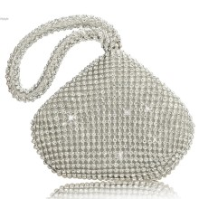 New Fashion Lady Women Rhinestones Women Wedding Evening Party Clutch Bag Purse 35 D