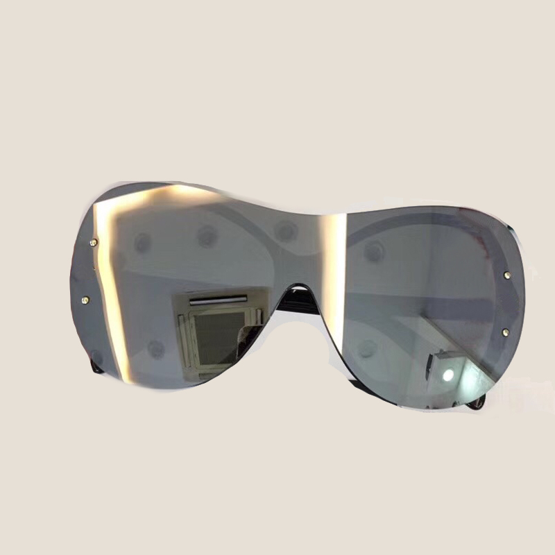 Hohe Sunglasses 2018 Lunette Soleil Qualität Glas Mit no5 Mode Sunglasses Frauen Objektiv No1 Designer schutzbrillen Sunglasses Sunglasses no4 Sommer Marke Verpackung De Sonnenbrille Große Box no2 Sunglasses no3 qqYrpX