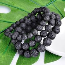 SA SILVERAGE Handmade Beaded Yoga Bracelet Mens Energy Natural Stone Trend Simple Retro Fashion