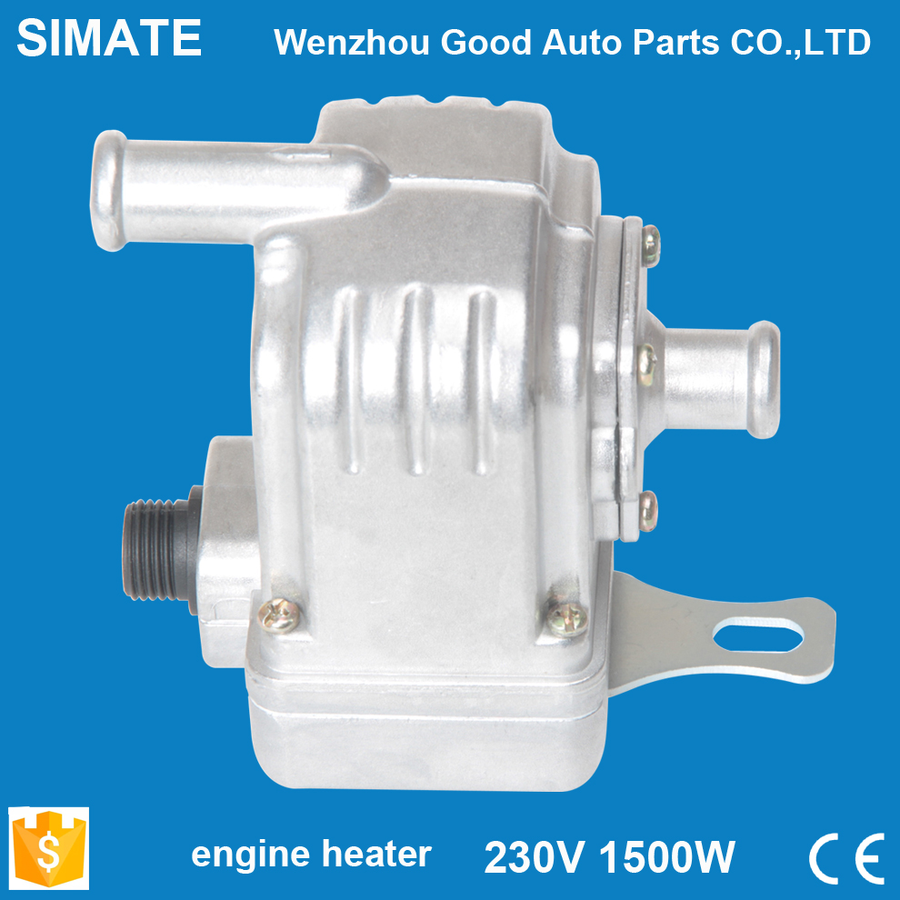 Car heater Rapid heating Security Easy to use With the pump 220V  1500W engine block heater auto parts цена и фото