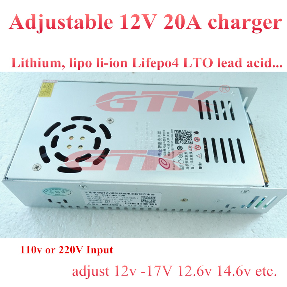Accessories & Parts Brand 50a Fast Quick Charger 3.65v 4.2v 2.8v 12v 60v For Lto Lithium Titanate Lifepo4 Rv Ev Adjustable 0-120v 50a 20a Power