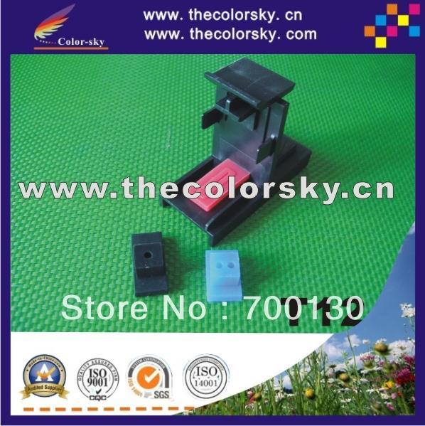 Красная бирка) Красная бирка этикетка для hp для lexmark для dell для samsung чернильный картридж уплотнение с синей лентой