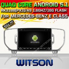 WITSON Android 5.1 Quad Core CAR DVD for KIA SPORTAGE 2016 AUTO GPS RADIO STEREO+1024X600 SCREEN+DVR/WIFI/3G+DSP+RDS+16GB flash