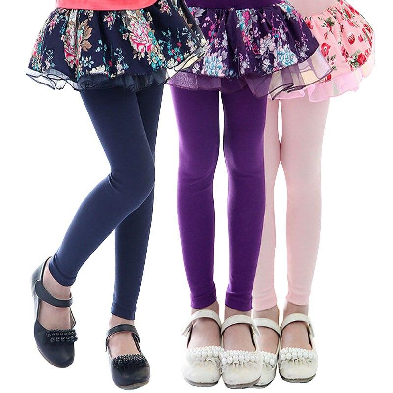 2017 Kids Girl Leggings Fashion Baby Girls Skirt legging Girls Floral Printed Cake Skirt Pants ...