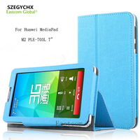 Table Case Cover For Huawei MediaPad M2 PLE 703L 7 Ultra Thin Smart Cover Stand Tablet