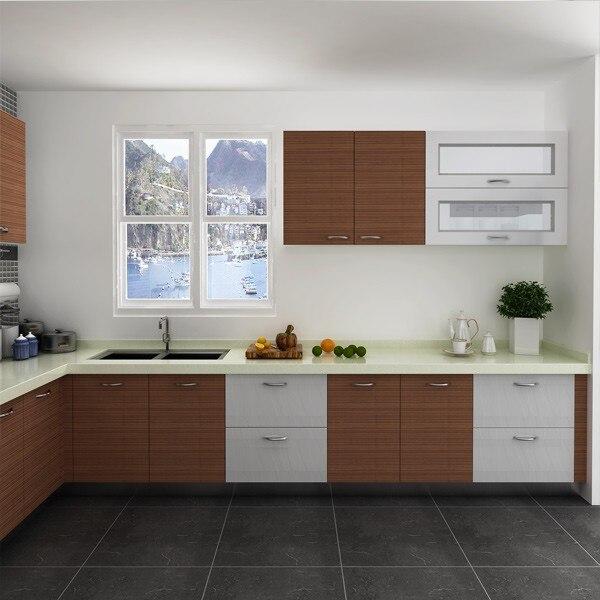 Modular Kenya Proyek Sederhana L Berbentuk Desain Dapur Kecil Op14 M05 Modular Kitchen Modular Kitchen Designkitchen Design Aliexpress